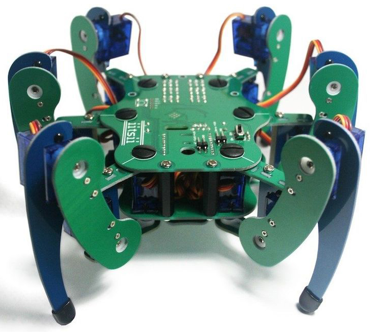 An arduino compatible hexapod robotthoughts